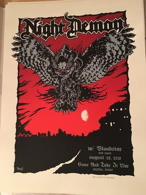 Image of Night Demon - Austin 2018