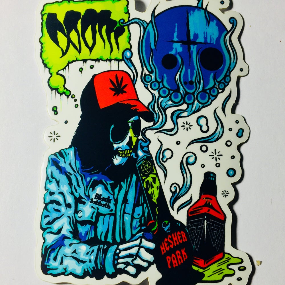 Image of KOZMIIC BLUES STICKER