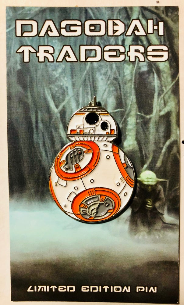 "Image of BB-8  1.5"" Lapel Pin - INSTOCK"