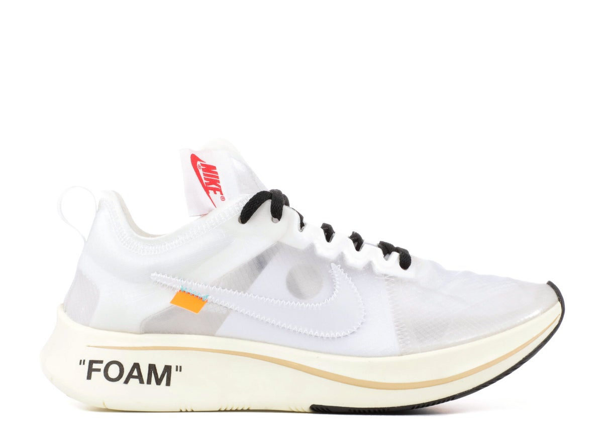 "Image of THE 10: NIKE ZOOM FLY ""OFF-WHITE"""