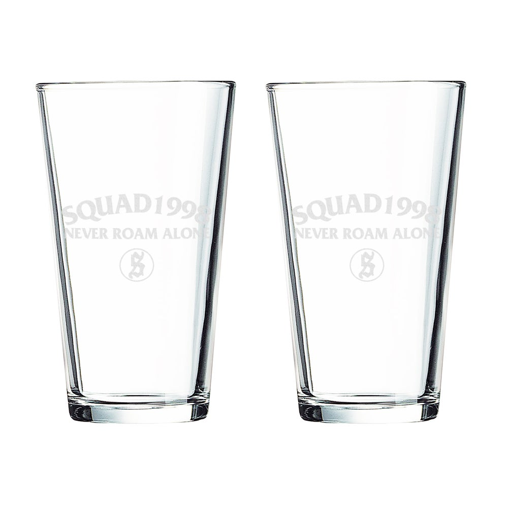 Image of Logo Pint Glass (SET OF 2)