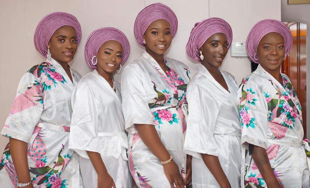 Image of Aso oke headtie (gele)