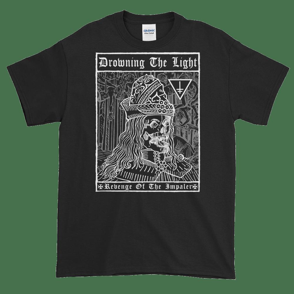 "Image of Drowning the Light - ""Revenge of the Impaler"" shirt"