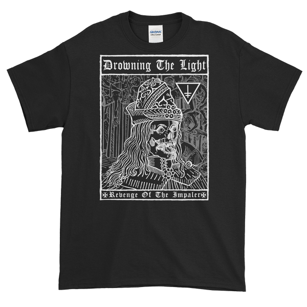 "Image of Drowning the Light - ""Revenge of the Impaler"" shirt"