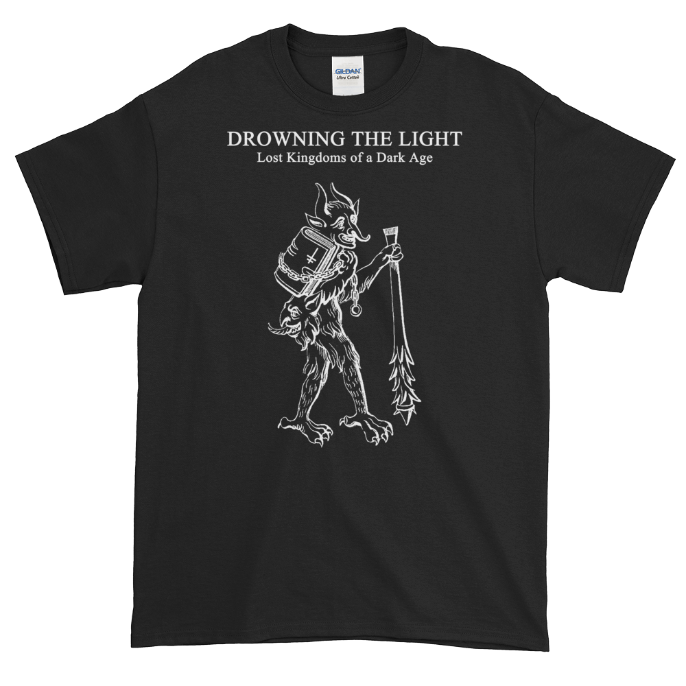 "Image of Drowning the Light - ""Lost Kingdoms of a Dark Age"" shirt"