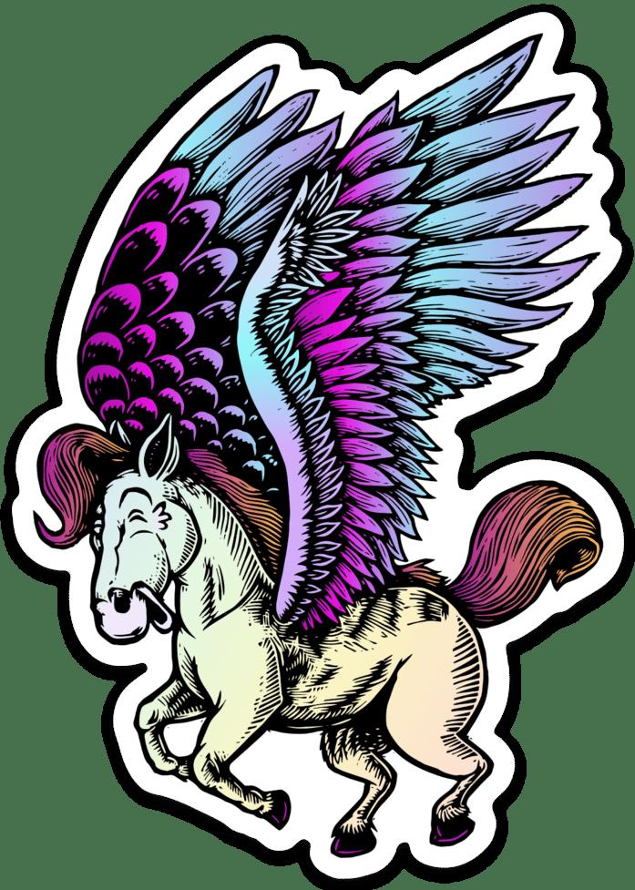 Image of Pegasus sticker