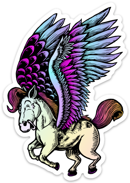 Image of Pegasus sticker