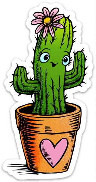 Image of Cute Cactus Sticker
