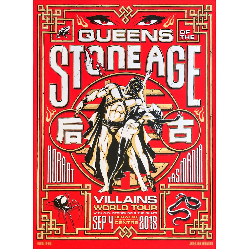 Image of Official Queens Of The Stone Age Tour Poster