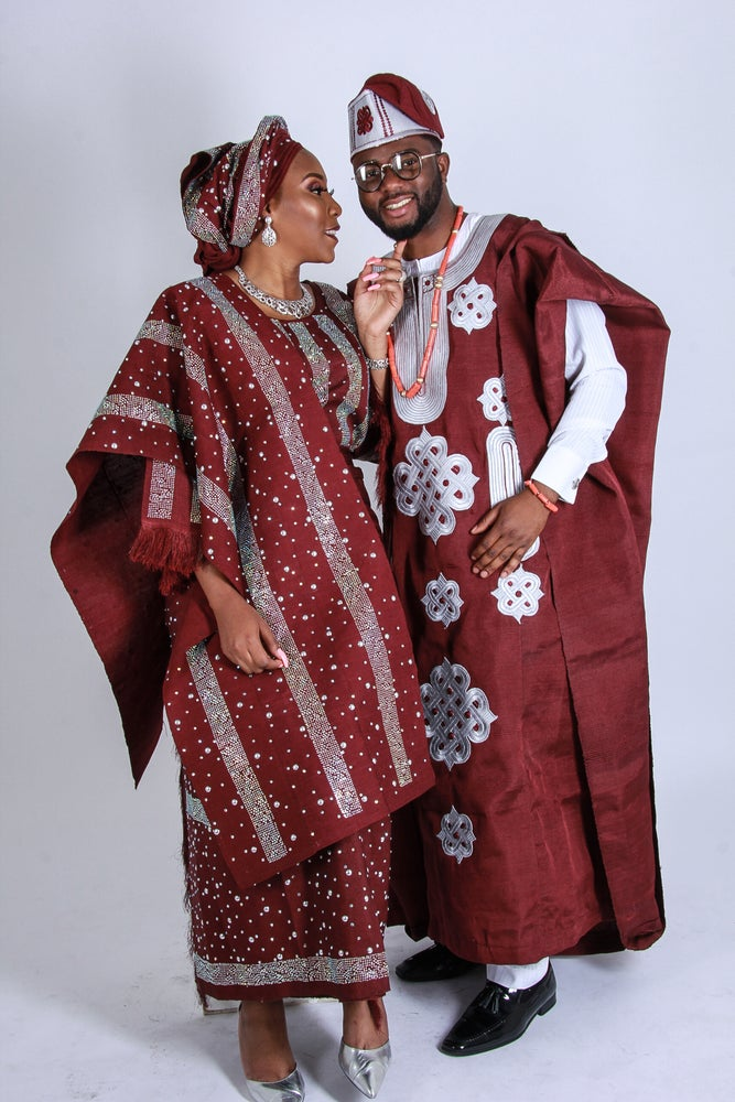 Image of Fabric full package- Deluxe Aso oke and Aso ebi