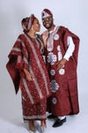 Fabric full package- Deluxe Aso oke and Aso ebi