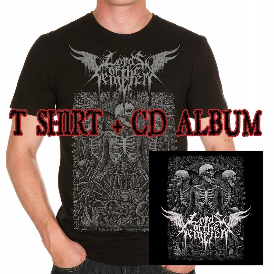 Image of Lords Of The Cemetery - Citipati / CD cristal or T-shirt or Bundle