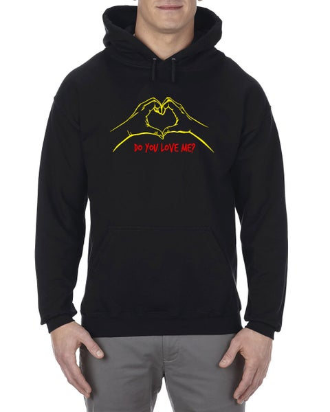 "Image of ""Do You Love Me"" Hoodie Black (EXTREMELY LIMITED)"