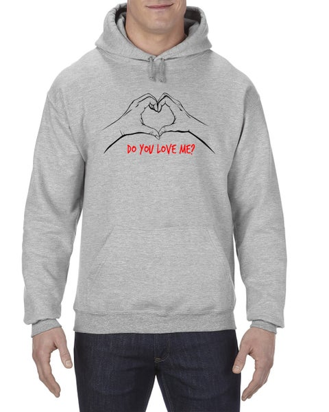 "Image of ""Do You Love Me"" Hoodie Gray (EXTREMELY LIMITED)"