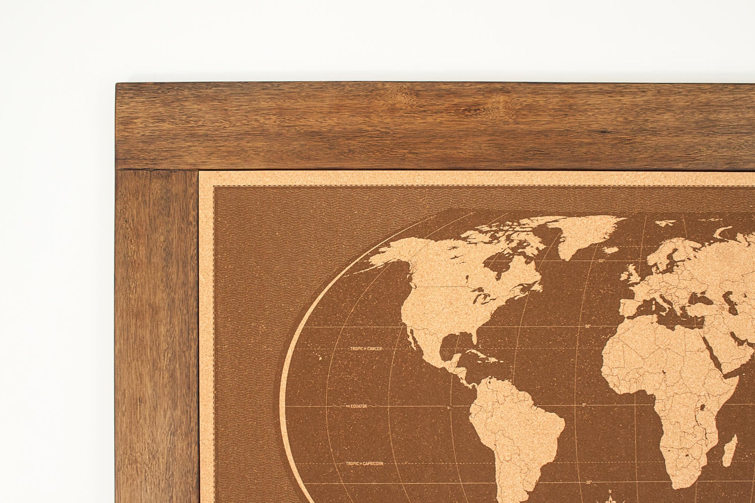 Image of Livingstone Framed World Map