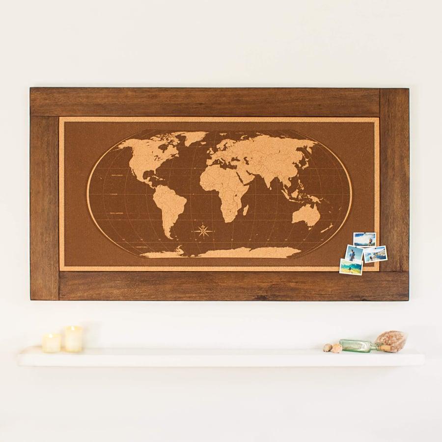 Image of Livingstone Framed World Map