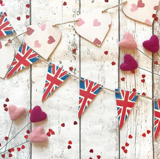 Image of Decoupaged Bunting
