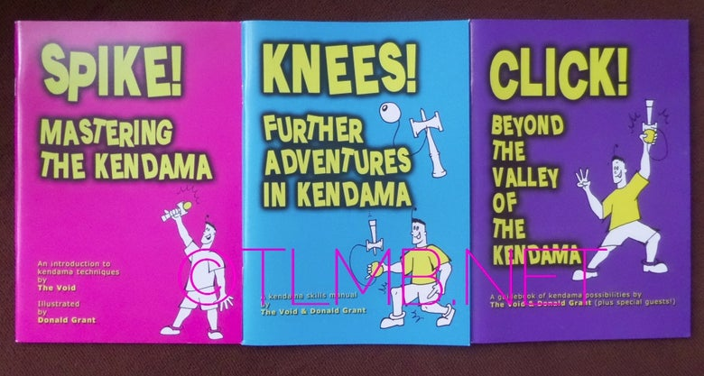 Image of Books - Spike, Knees & Click