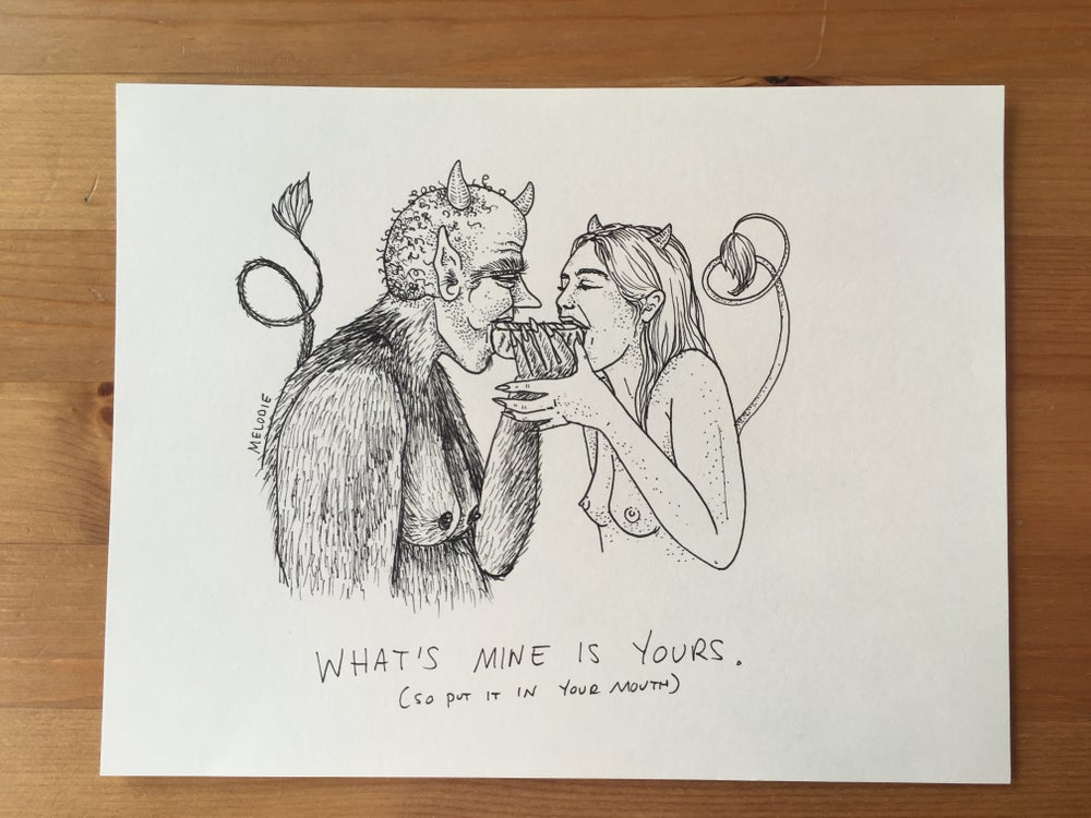 Image of original - what mine is yours