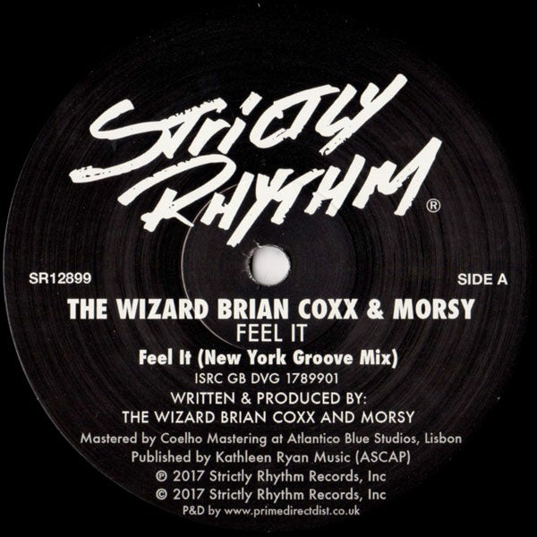 Image of The Wizard Brian Coxx & Morsy - Feel It SR12899