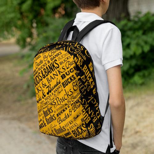 Image of Headlines Backpack Black/YlwGold