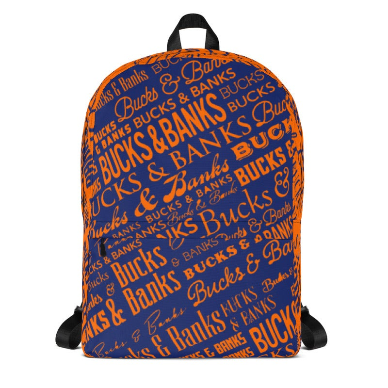 Image of Headlines Backpack TrueBlue/Orange