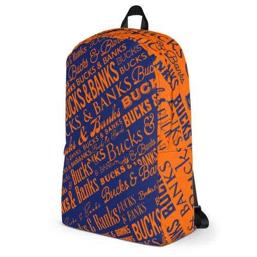 Image of Headlines Backpack TrueBlue/Orange