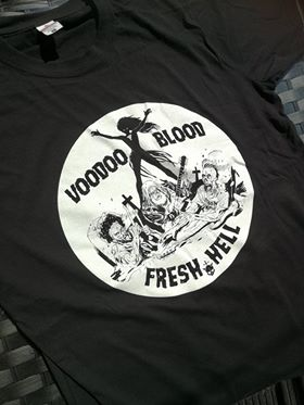 Image of Official Voodoo Blood - Fresh Hell Unisex T-Shirts