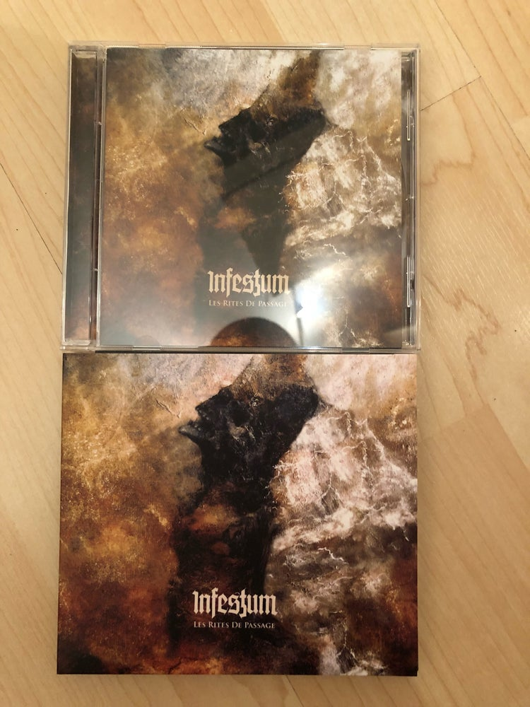 Image of INFESTUM  - Les Rites De Passage CD / Digi-Pack