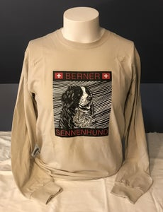 Image of Long Sleeve Berner Sennehund Unisex T-Shirt