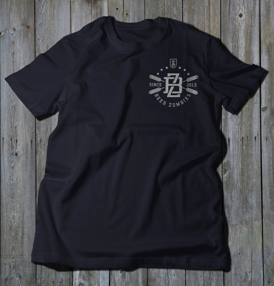 Image of Beer Zombies - BZ / Craft Till Death Soft Tee