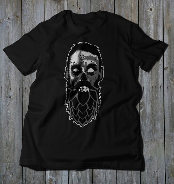 Image of Beer Zombies - Hop Bearded Logo - Soft T
