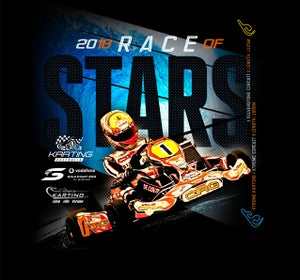 Image of 2018 Race of Stars Racing T-Shirt LIMITED STOCK REMAINING