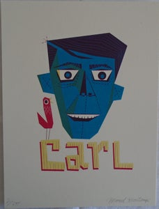 Image of Marcel Bontempi : Carl.  Ltd Edition Artwork.