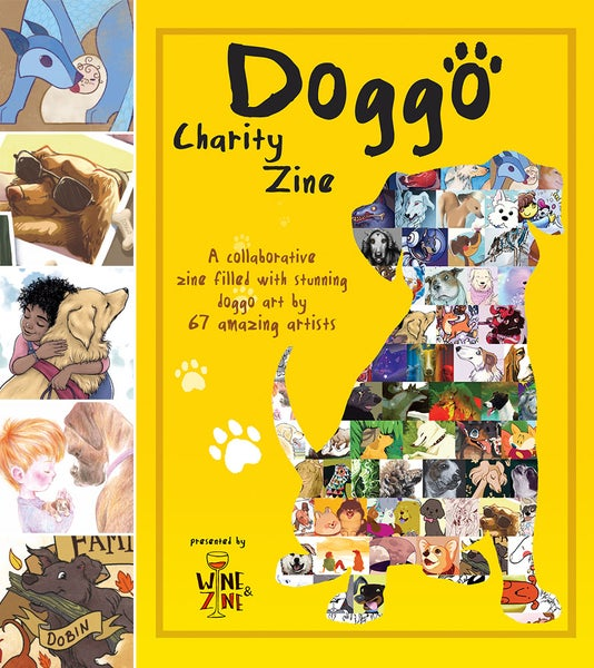 Image of Doggo Charity Zine