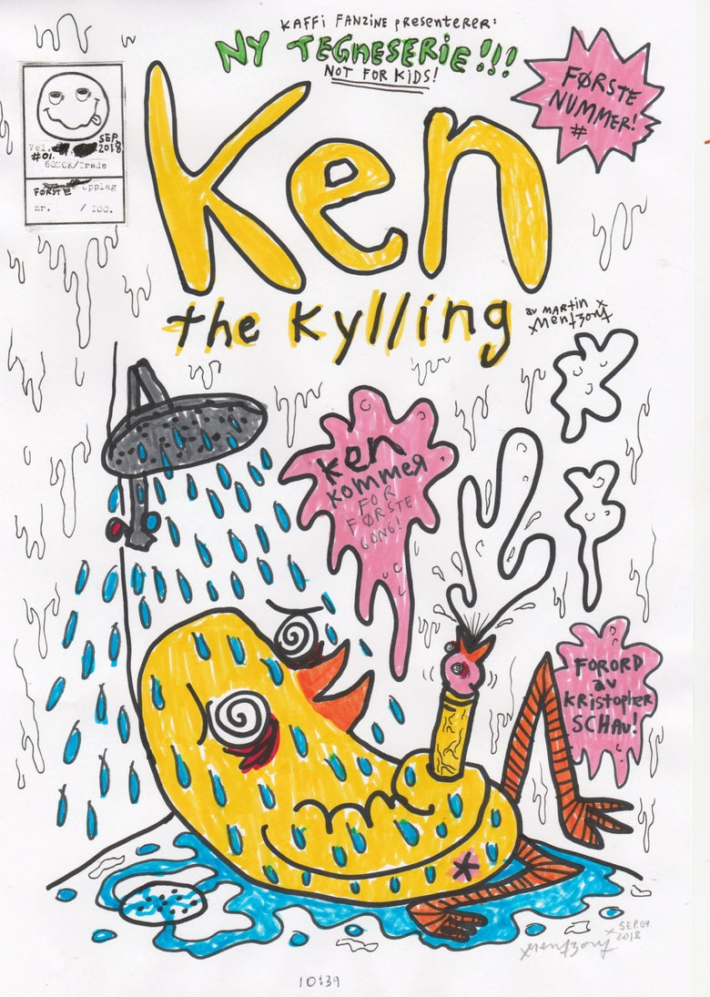 Image of Ken the Kylling Vol.#01 (2018) Limited Edition
