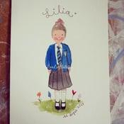 Image of School Portrait Painting