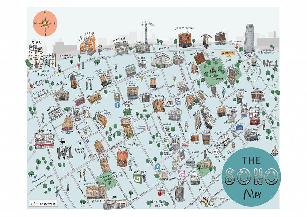 Image of Soho Map