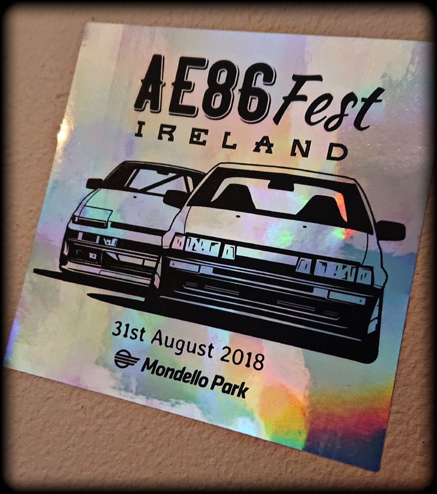 Image of AE86 Fest Ireland Sticker