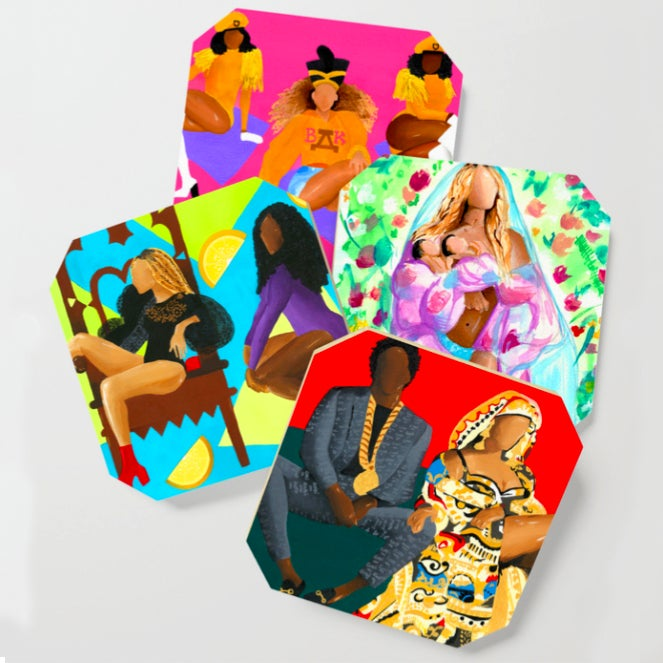 Image of BeyHive Coaster Set