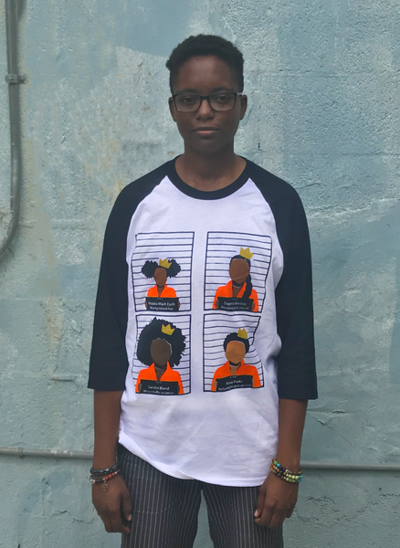Image of Black Girls Matter Baseball Shirt