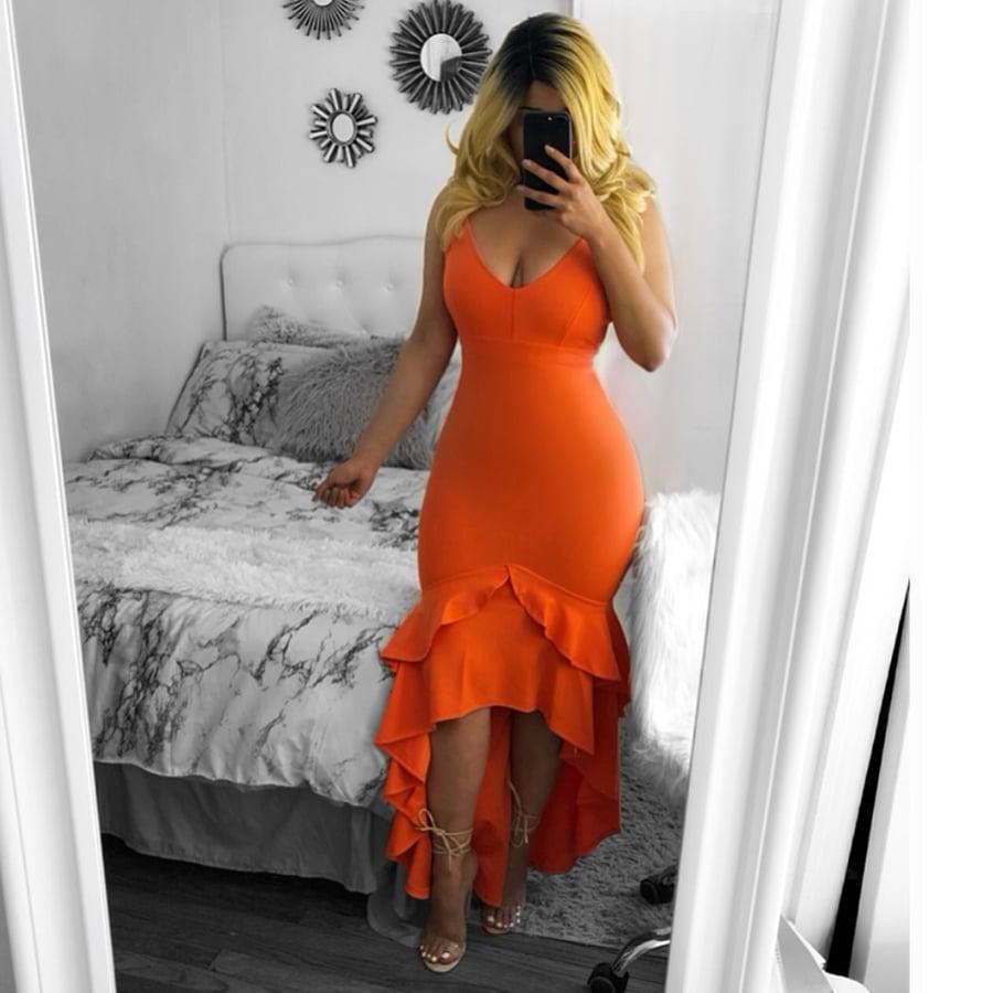 Image of Aneli midi dress