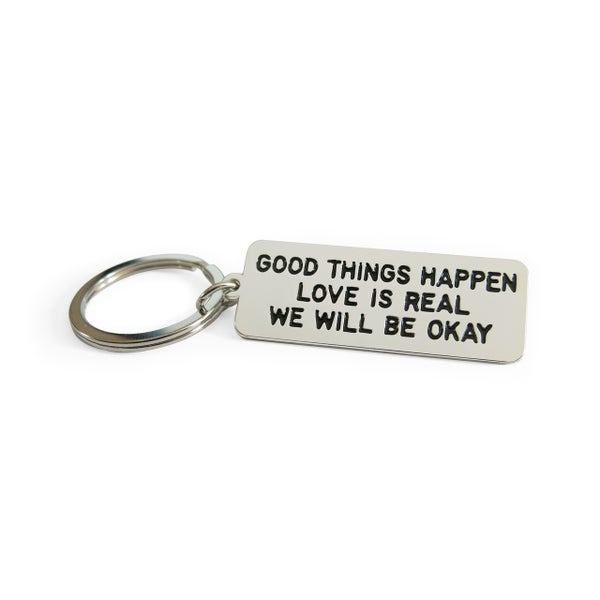 Image of GOOD THINGS HAPPEN Keychain