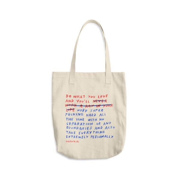 "Image of ""Do What You Love"" Tote"