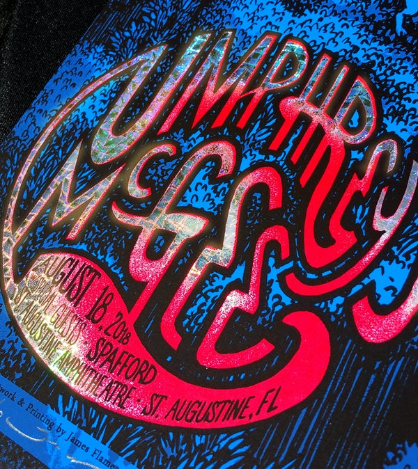 "Image of Umphrey's McGee - St. Augustine, FL 2018 - ""Pinwheel"" HoloFoil"