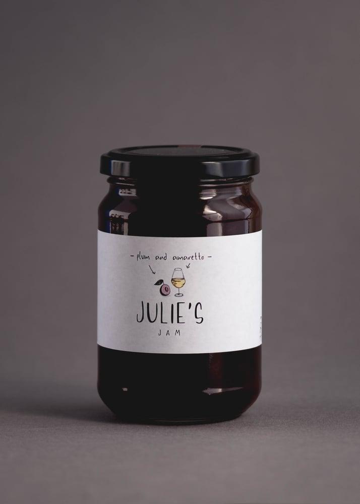 Image of Plum and Amaretto Jam