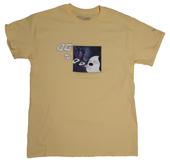 "Image of *** OG.2000 ""SMOKE RINGS"" T-SHIRT *** YELLOW HAZE"