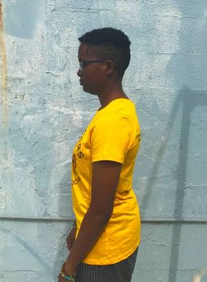 Image of Yellow Logo Shirt