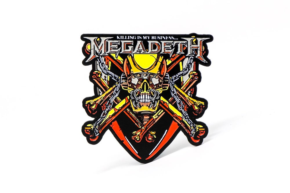 Image of Megadeth - KIMB Enamel Pin