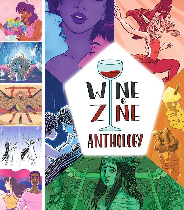 Image of The Wine and Zine Anthology: Volume One **PRE-ORDER**
